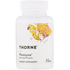 Thorne Research, Plantizyme,90 粒膠囊