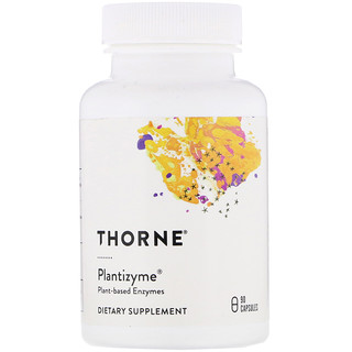 Thorne Research, Plantizyme, 90 Capsules