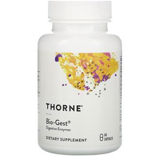 Thorne Research, Bio-Gest, 60 Capsules