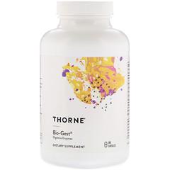 Thorne Research, Bio-Gest膳食補充素食膠囊,180粒