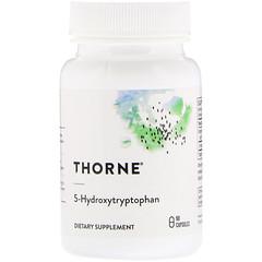 Thorne Research, 5 -羥色氨酸,90 粒膠囊