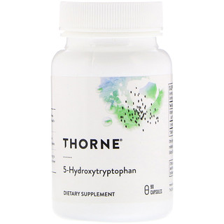 Thorne Research, 5-hidroxitriptofano, 90 Cápsulas