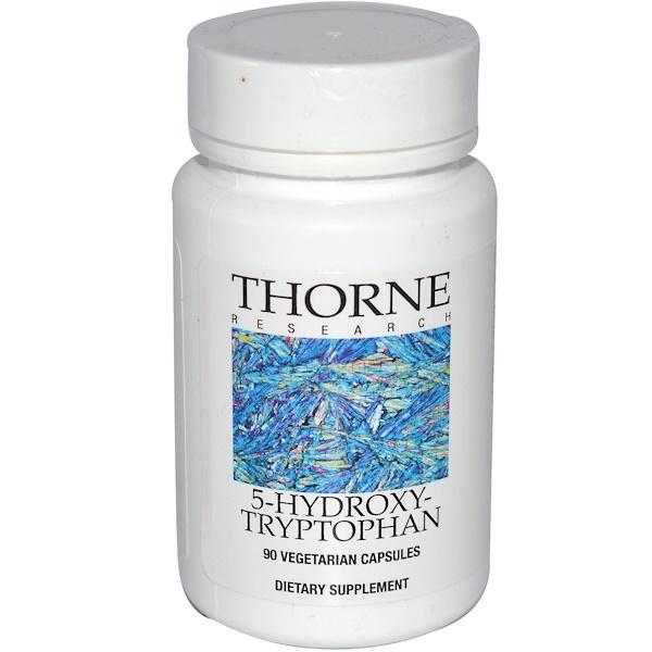 Thorne Research, 5-Hydroxytryptophan, 90 Vegetarian Capsules