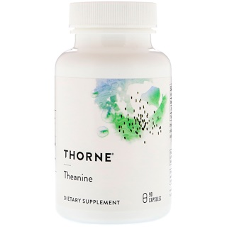 Thorne Research, Theanine, 90 Capsules