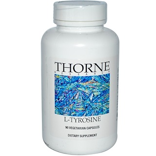 Thorne Research, L-Tyrosine, 90 Vegetarian Capsules