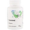 Thorne Research, L-Lysine, 60 Capsules