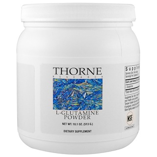 Thorne Research, L-Glutamina en Polvo, 13.5 oz (383 g)