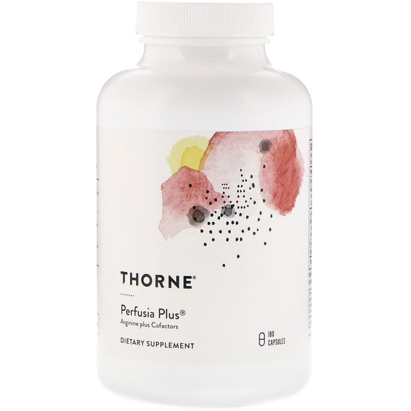 Thorne Research, Perfusia Plus, 180 Capsules