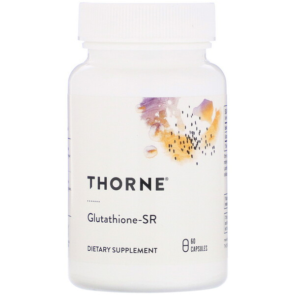 Thorne Research, Glutathione-SR, 60 Capsules