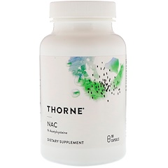 Thorne Research, NAC, 90 Capsules