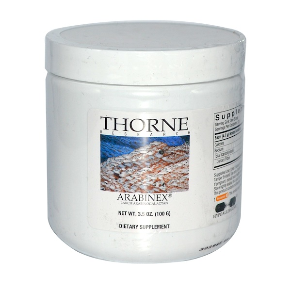Thorne Research, Arabinex, 3.5 oz (100 g)