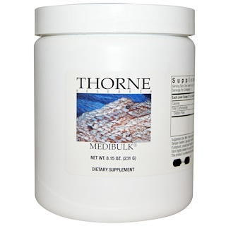 Thorne Research, Medibulk, 8.15 oz (231 g)
