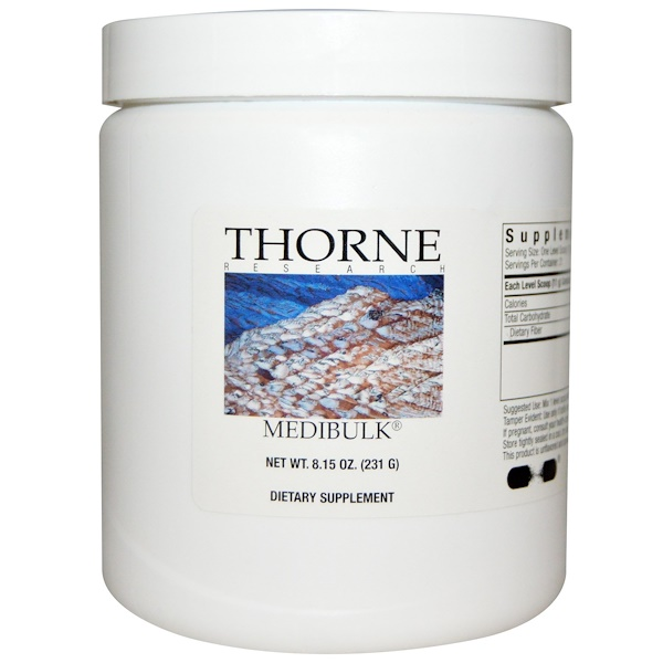 Thorne Research, Medibulk, 8.15 oz (231 g) (Discontinued Item)