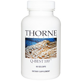 Thorne Research, Q-Best 100, 60 Gelcaps