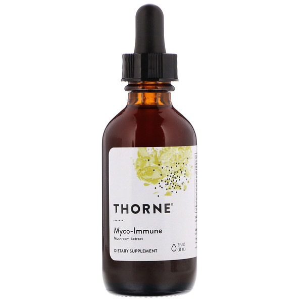 Thorne Research, Myco-Immune, Mushroom Extract, 2 fl oz (60 ml)