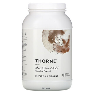 Thorne Research, MediClear-SGS, Chocolate , 2.39 lb (1,083 g)