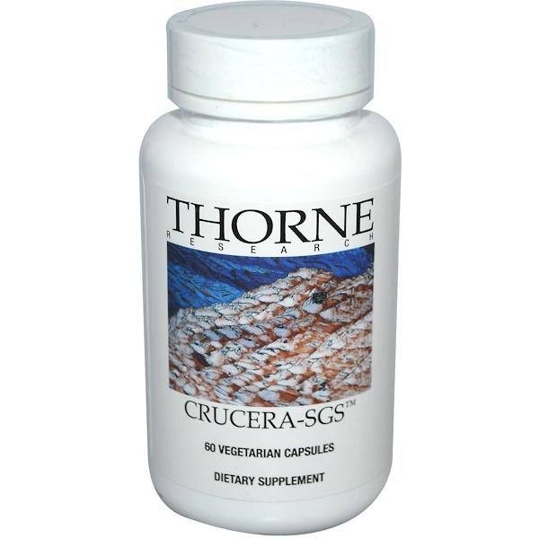 Thorne Research, Crucera-SGS, 60 растительных капсул