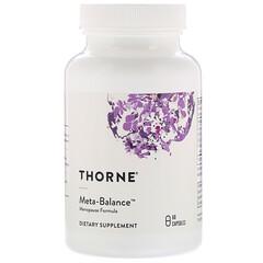 Thorne Research, 代謝平衡,60 粒膠囊