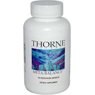 Thorne Research, Meta-Balance, 120 Vegetarian Capsules