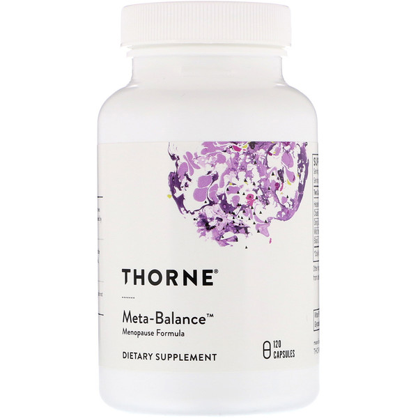 Thorne Research, Meta-Balance, 120 Capsules