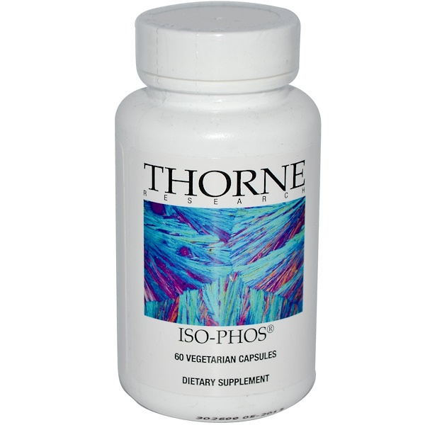 Thorne Research, Iso-Phos, 60 Vegetarian Capsules