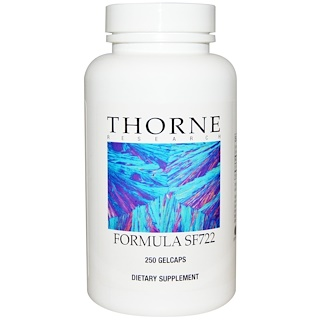 Thorne Research, Férmula SF722, 250 Cápsulas