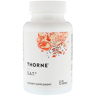 Thorne Research, S.A.T., 60 Capsules