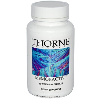 Thorne Research, Memoractiv, 60 Vegetarian Capsules