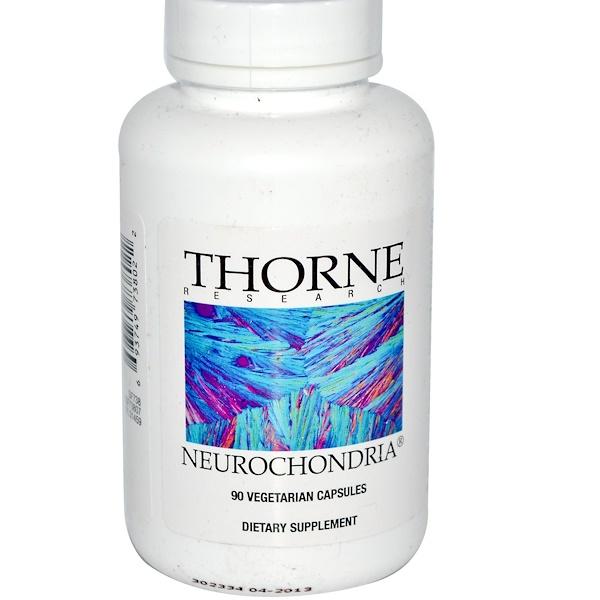 Thorne Research, Neurochondria, 90 Vegetarian Capsules