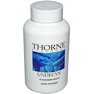 Thorne Research, Undecyn, 120 cápsulas vegetales