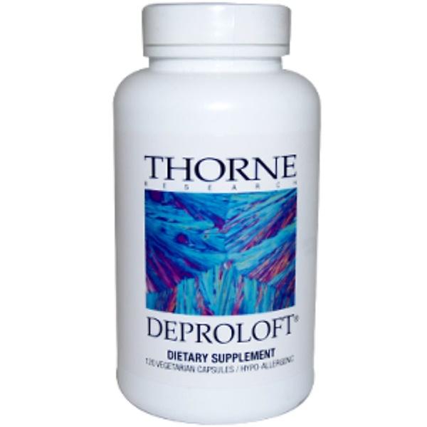 Thorne Research, Deproloft, 120 Veggie Caps (Discontinued Item)