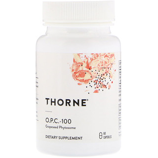 Thorne Research, O.P.C.-100, 60 Capsules