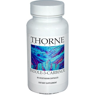 Thorne Research, Indole-3-Carbinol, 60 Vegetarian Capsules