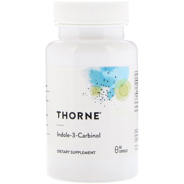 Thorne Research, Indole-3-Carbinol, 60 Capsules