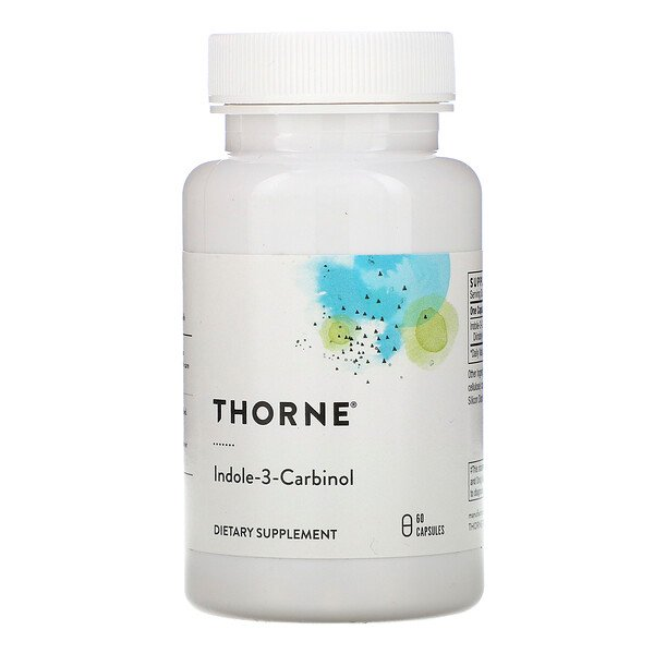 Thorne Research, Indole-3-Carbinol, 60 Capsules (Discontinued Item)