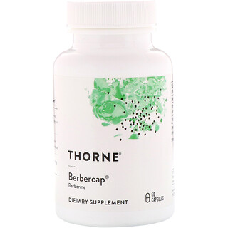 Thorne Research, Berbercap,60粒膠囊
