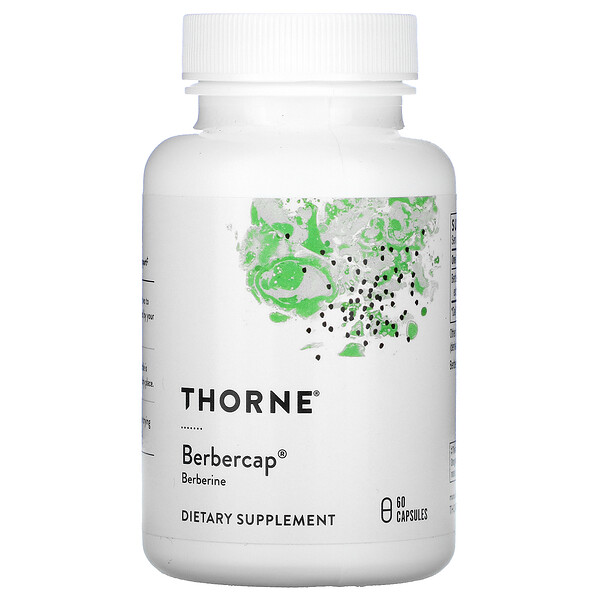 Thorne Research, Berbercap, 60 капсул