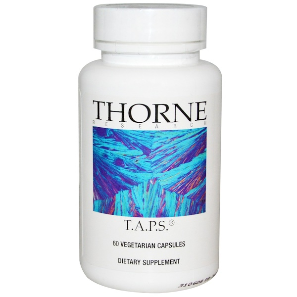 Thorne Research, T.A.P.S., 60 Veggie Caps (Discontinued Item)