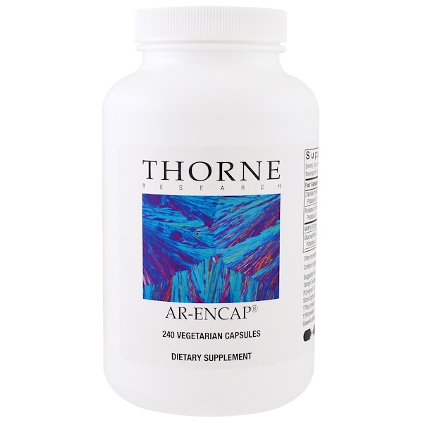 Thorne Research, AR-Encap, 240 Vegetarian Capsules