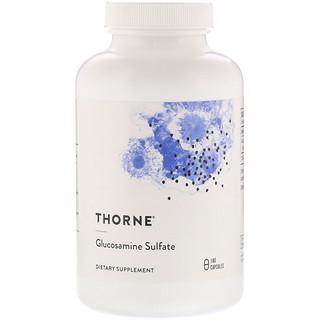 Thorne Research, Glucosamine Sulfate, 180 Capsules