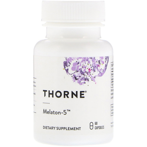 Thorne Research, Melaton-5، 60كبسولة