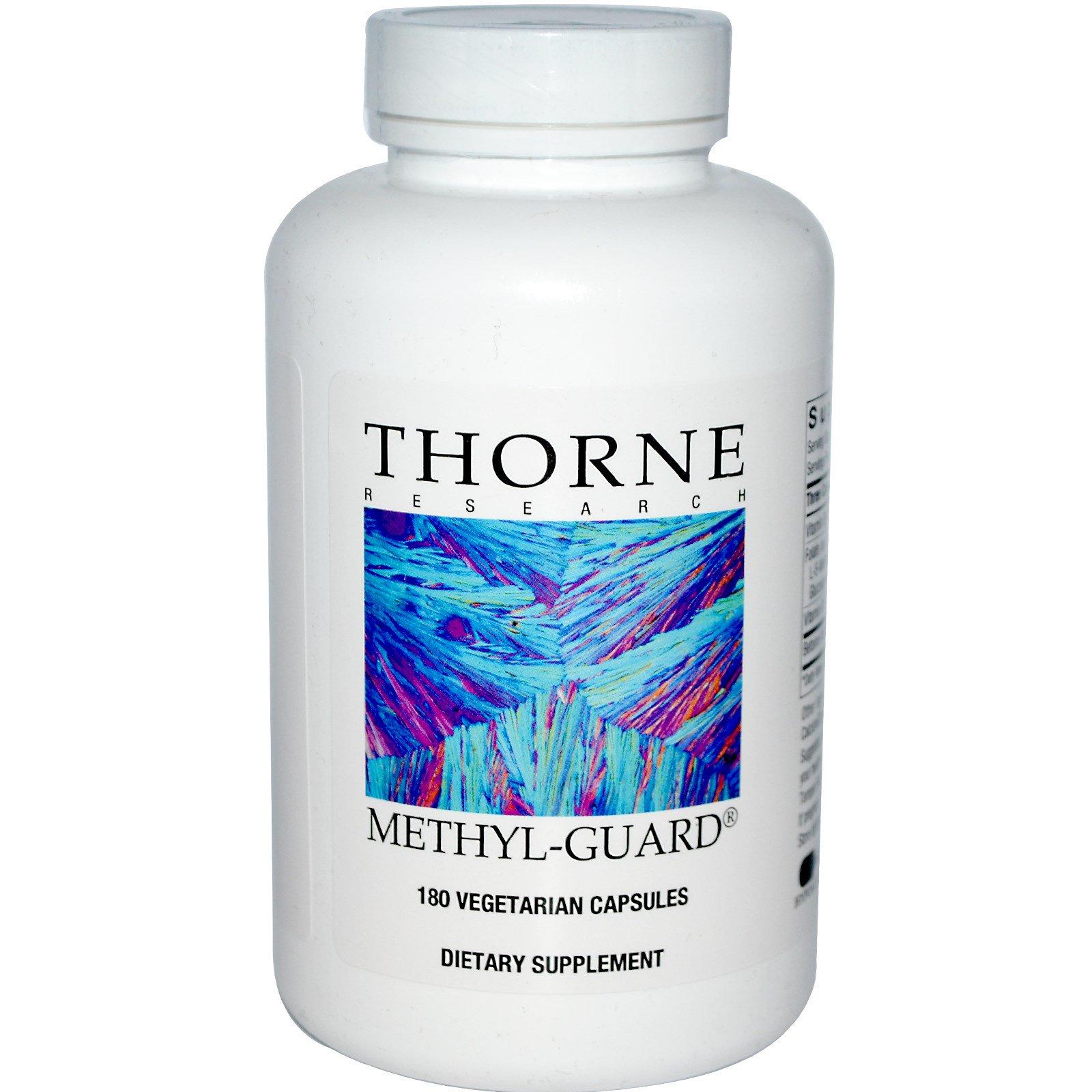 Thorne Research, Methyl-Guard, 180 вегетарианских капсул