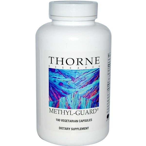 Thorne Research, Methyl-Guard, 180 вегетарианских капсул