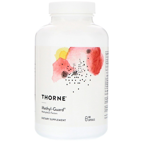 Thorne Research, Methyl-Guard, 180 Capsules