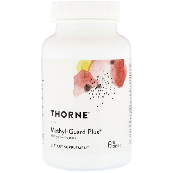 Thorne Research, Methyl-Guard Plus, 90 Capsules