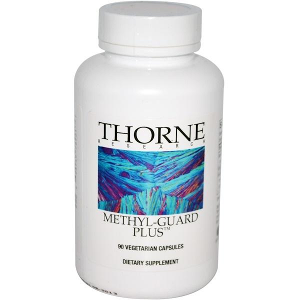 Thorne Research, Methyl-Guard Plus, 90 капсул в растительной оболочке