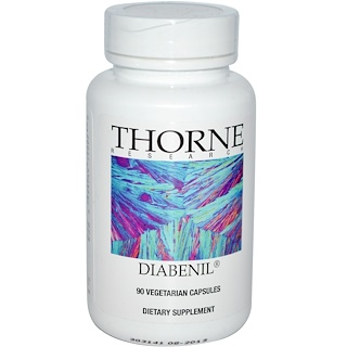 Thorne Research, Diabenil, 90 Vegetarian Capsules