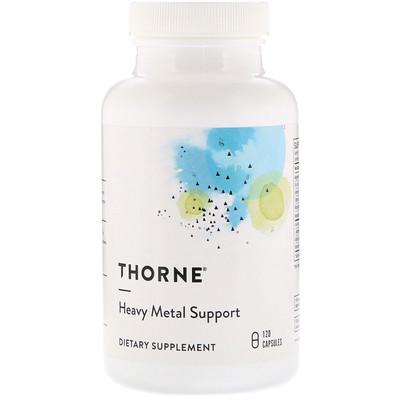 Купить Thorne Research Поддержка против тяжелых металлов, 120 капсул