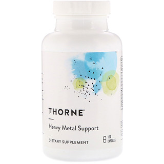 Thorne Research, Heavy Metal Support, 120 Capsules