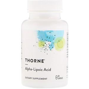 Торн Ресерч, Alpha-Lipoic Acid, 60 Capsules отзывы